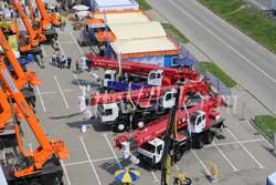 Автокраны Галичанин и Клинцы на выставке СТТ 2013